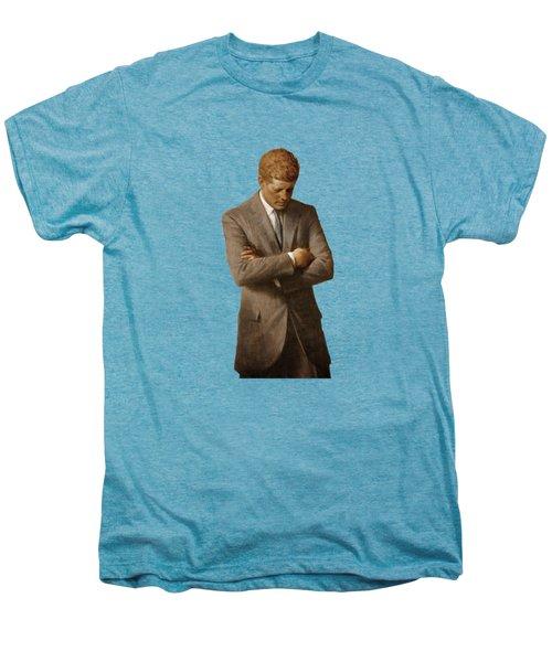 John F Kennedy Men's Premium T-Shirt by War Is Hell Store