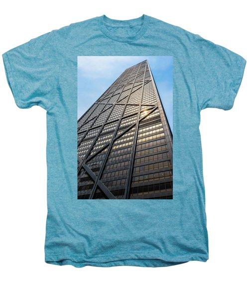 John Hancock Center Chicago Men's Premium T-Shirt by Steve Gadomski