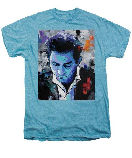 Johnny Cash Men's Premium T-Shirt by Richard Day