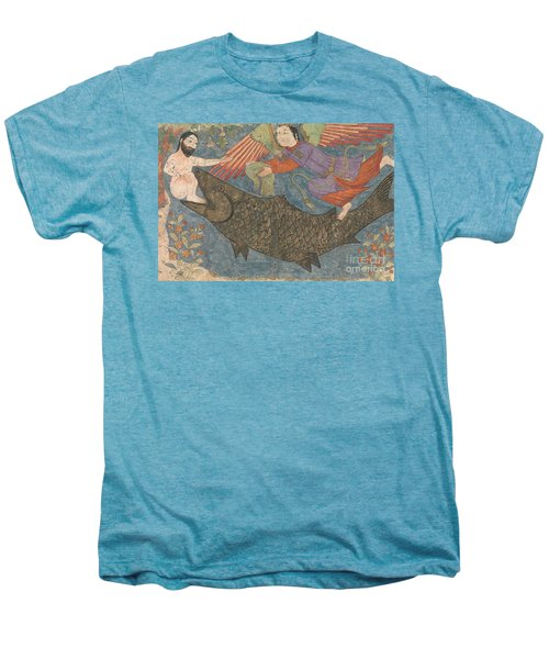 Jonah And The Whale Men's Premium T-Shirt by Iranian School