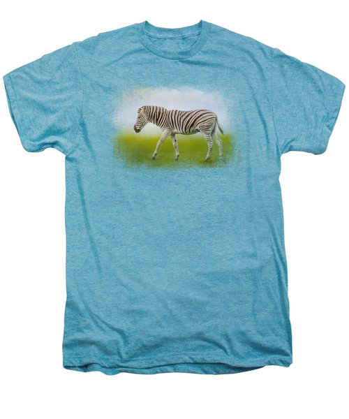 Journey Of The Zebra Men's Premium T-Shirt by Jai Johnson