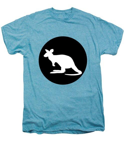 Kangaroo  Men's Premium T-Shirt by Mordax Furittus