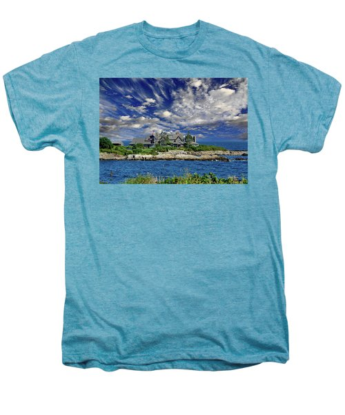 Kennebunkport, Maine - Walker's Point Men's Premium T-Shirt by Russ Harris