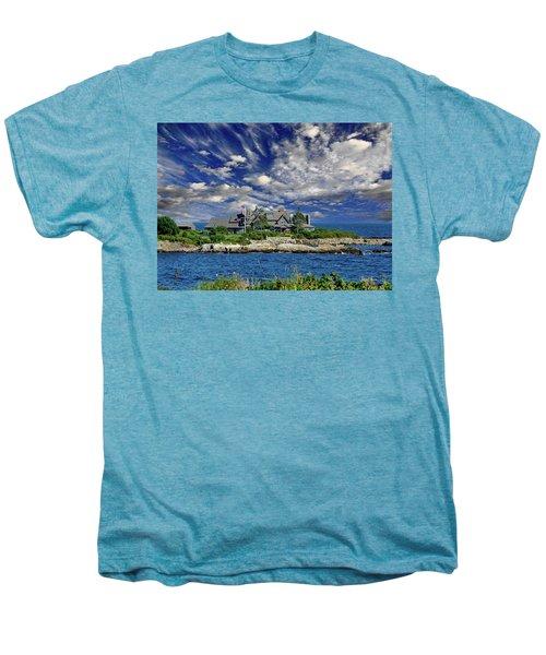 Kennebunkport, Maine - Walker's Point Men's Premium T-Shirt by Russ Harris
