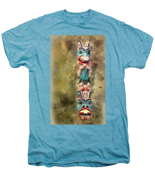Ketchikan Alaska Totem Pole Men's Premium T-Shirt