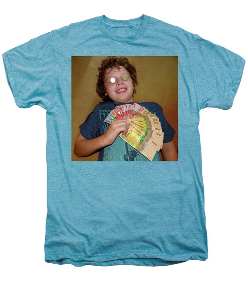 Kid With Money Men's Premium T-Shirt by Exploramum Exploramum