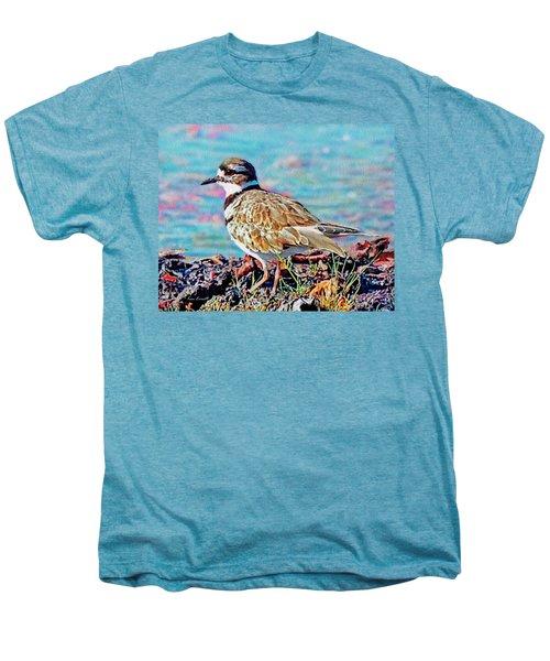 Killdeer  Men's Premium T-Shirt by Ken Everett