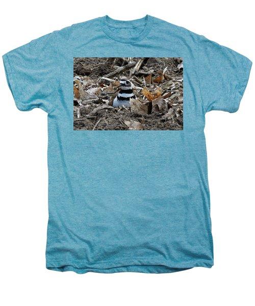 Killdeer On It's Nest 2682 Men's Premium T-Shirt