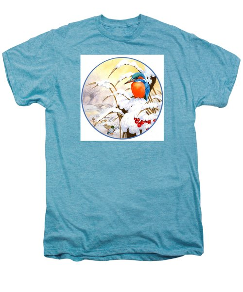 Kingfisher Plate Men's Premium T-Shirt