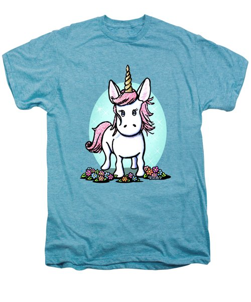 Kiniart Unicorn Sparkle Men's Premium T-Shirt by Kim Niles