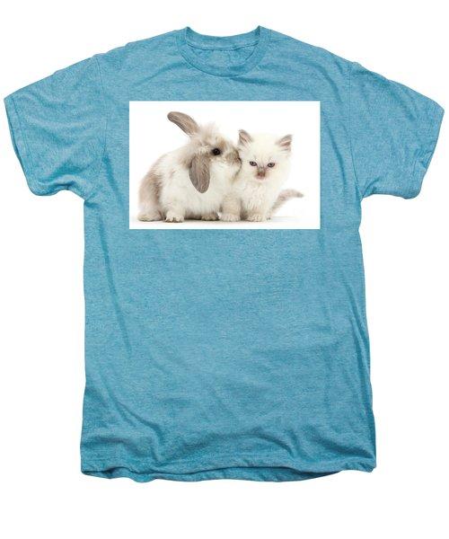 Kiss Her Fluffy Cheek Men's Premium T-Shirt
