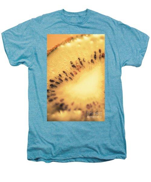 Kiwi Margarita Details Men's Premium T-Shirt by Jorgo Photography - Wall Art Gallery