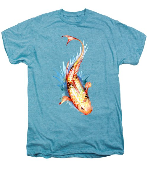Koi Fish II Men's Premium T-Shirt by Sam Nagel