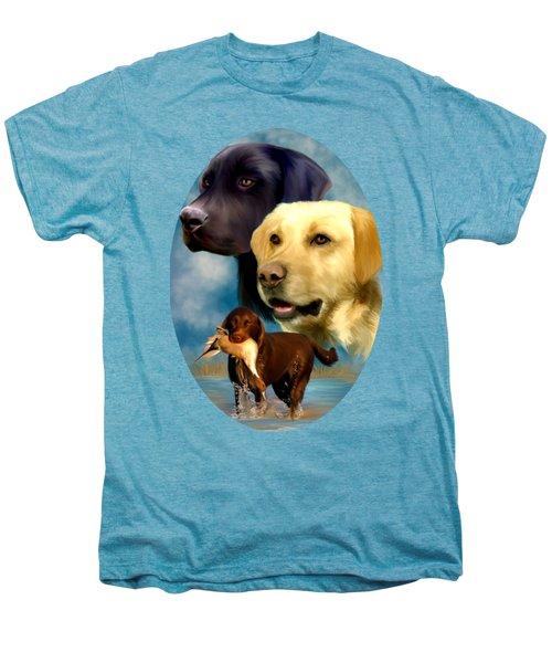 Labrador Retrievers Men's Premium T-Shirt