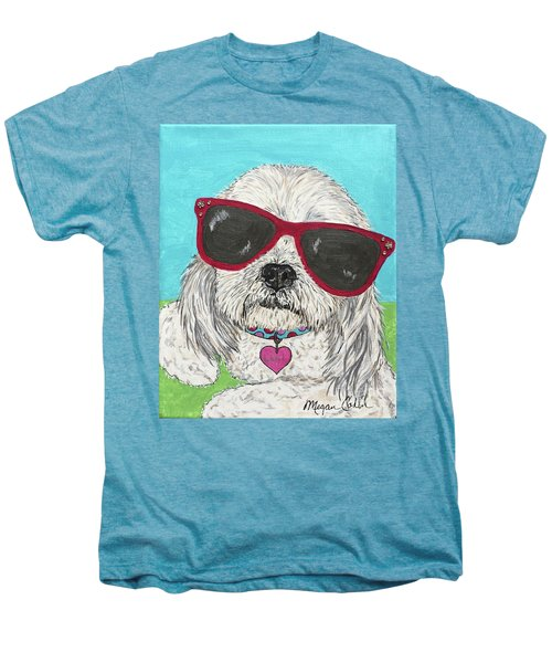 Laci With Shades Men's Premium T-Shirt