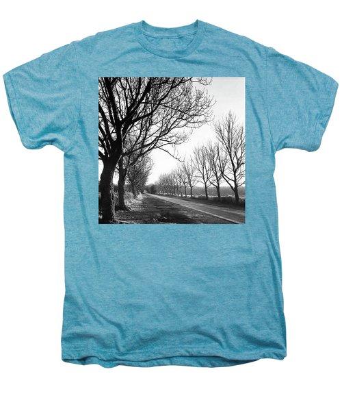 Lady Anne's Drive, Holkham Men's Premium T-Shirt