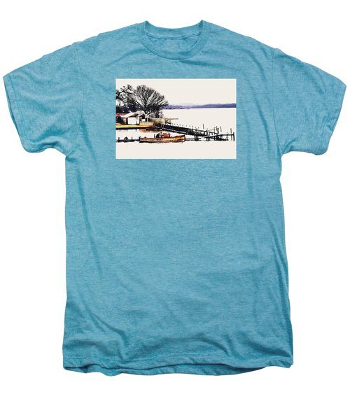 Men's Premium T-Shirt featuring the photograph Lady Jean by Jeremy Lavender Photography