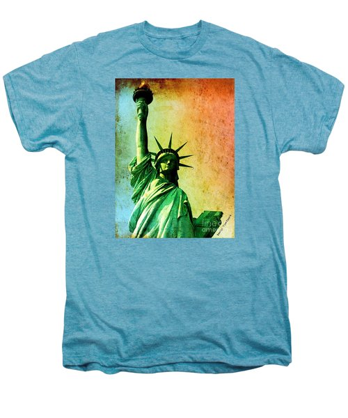 Lady Liberty Men's Premium T-Shirt