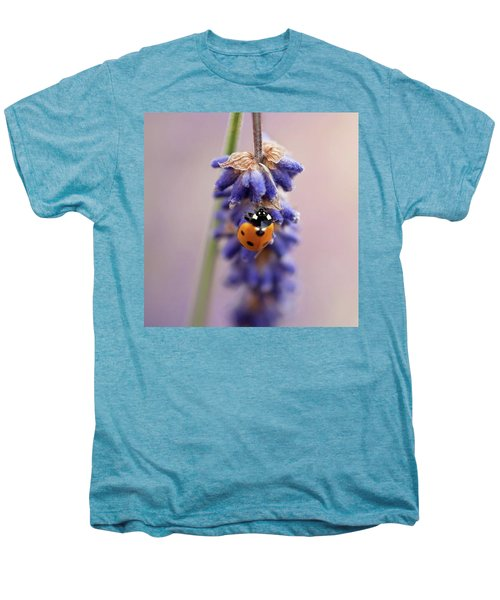 Ladybird On Norfolk Lavender  #norfolk Men's Premium T-Shirt