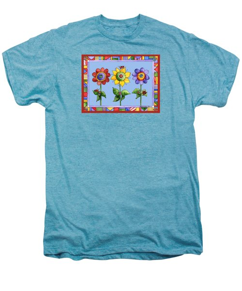 Ladybug Trio Men's Premium T-Shirt by Shelley Wallace Ylst