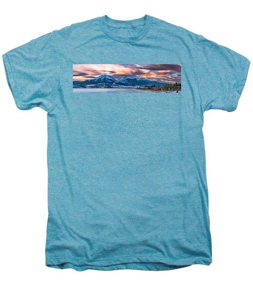 Men's Premium T-Shirt featuring the photograph Lake Dillon by Sebastian Musial