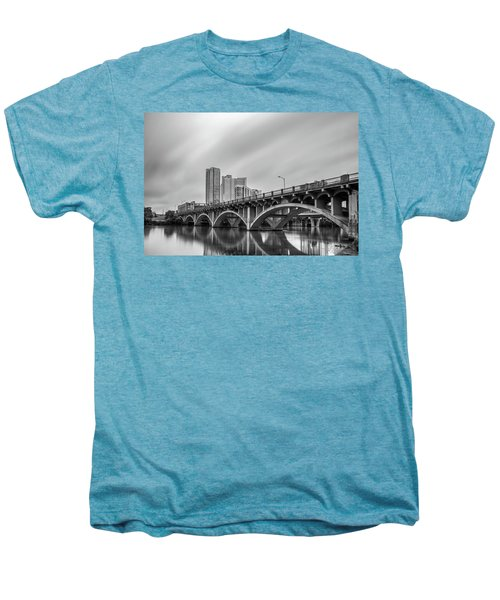 Lamar Bridge In Austin, Texas Men's Premium T-Shirt