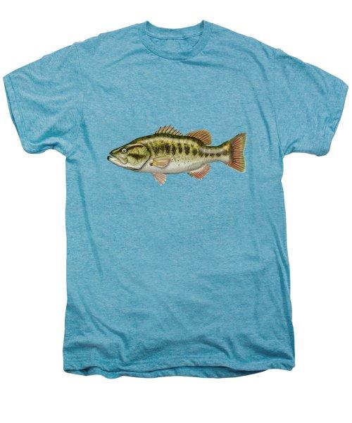 Largemouth Bass Men's Premium T-Shirt by Serge Averbukh