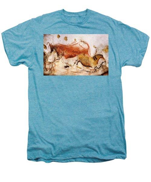 Lascaux Cow And Horse Men's Premium T-Shirt