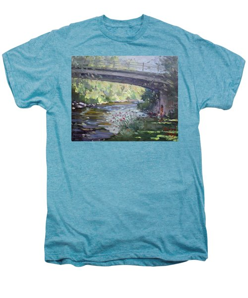 Late Afternoon At Mcnab Park Men's Premium T-Shirt