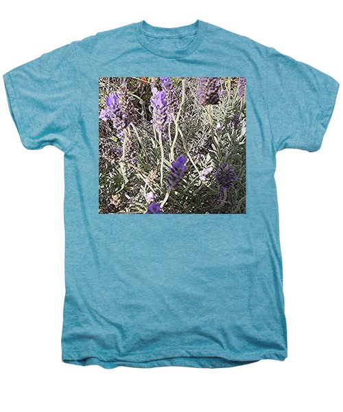 Lavender Moment Men's Premium T-Shirt by Winsome Gunning