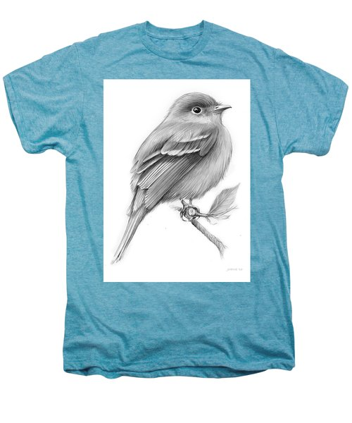 Least Flycatcher Men's Premium T-Shirt