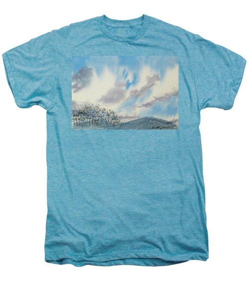 The Blue Hills Of Summer Men's Premium T-Shirt