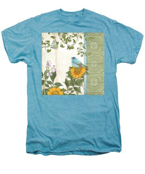Les Magnifiques Fleurs Iv - Secret Garden Men's Premium T-Shirt by Audrey Jeanne Roberts