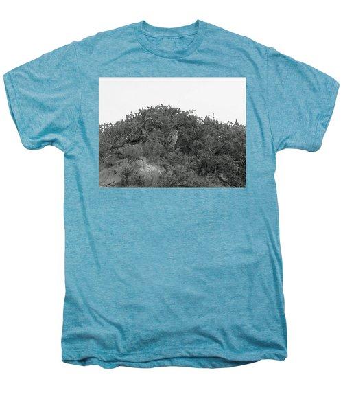 Lesser Horned Owl Men's Premium T-Shirt by Sandy Taylor