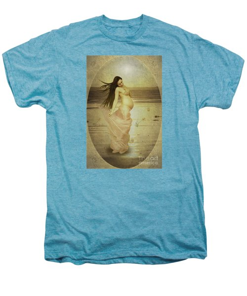Let Your Soul And Spirit Fly Men's Premium T-Shirt by Linda Lees
