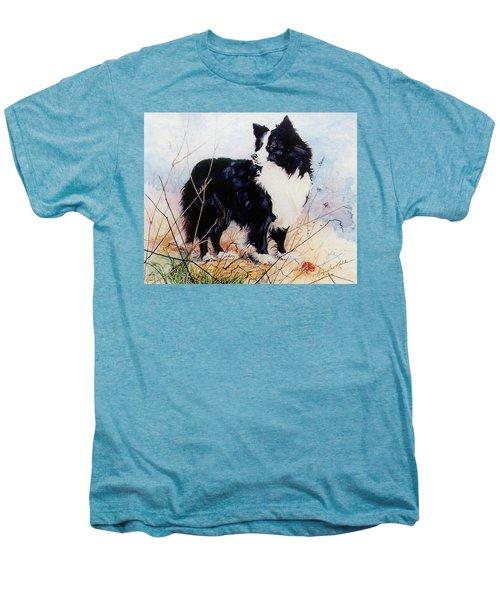 Let's Play Ball Men's Premium T-Shirt by Hanne Lore Koehler