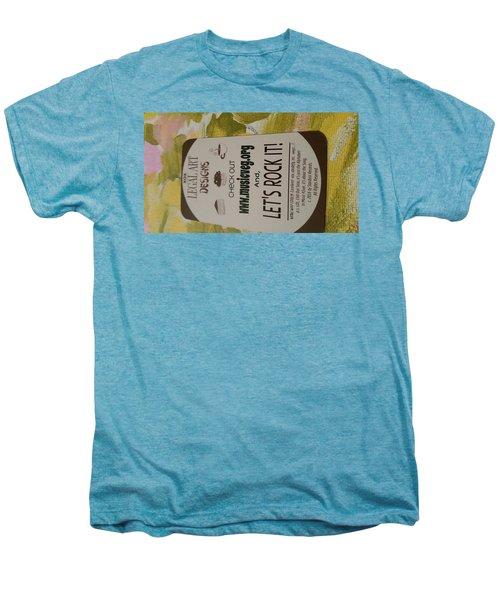 Let's Rock It Men's Premium T-Shirt by Silvana Vienne