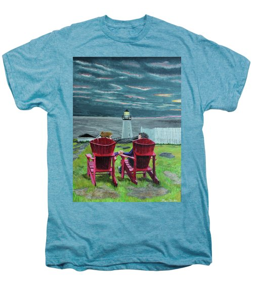 Lighthouse Lovers Men's Premium T-Shirt