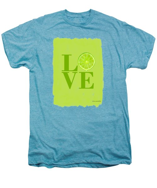 Lime Men's Premium T-Shirt