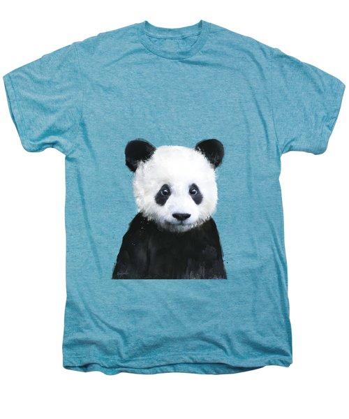 Little Panda Men's Premium T-Shirt by Amy Hamilton