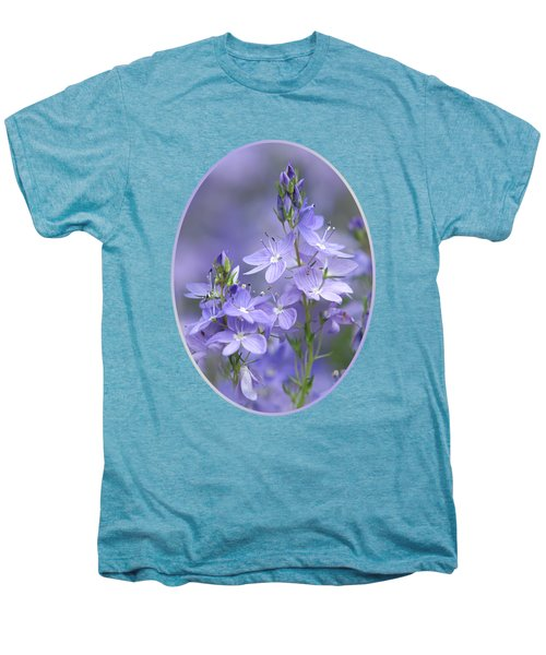 Little Purple Flowers Vertical Men's Premium T-Shirt