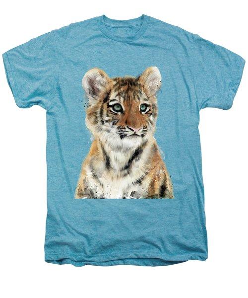 Little Tiger Men's Premium T-Shirt by Amy Hamilton