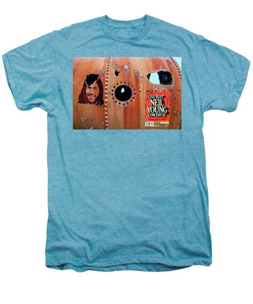 Live Rust, Neil Young Men's Premium T-Shirt