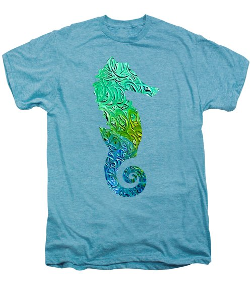 Lively Seahorse Men's Premium T-Shirt
