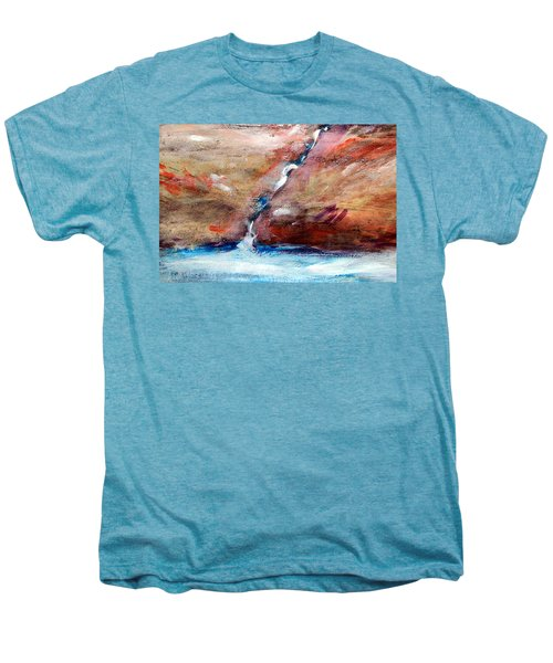 Living Water Men's Premium T-Shirt by Winsome Gunning