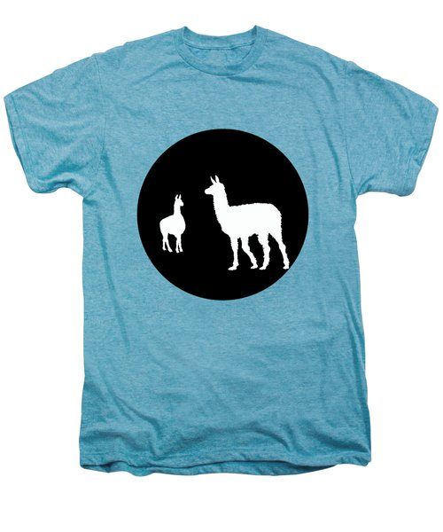 Llamas Men's Premium T-Shirt by Mordax Furittus