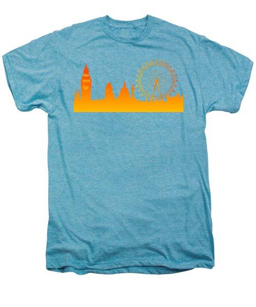 London City Skyline Men's Premium T-Shirt