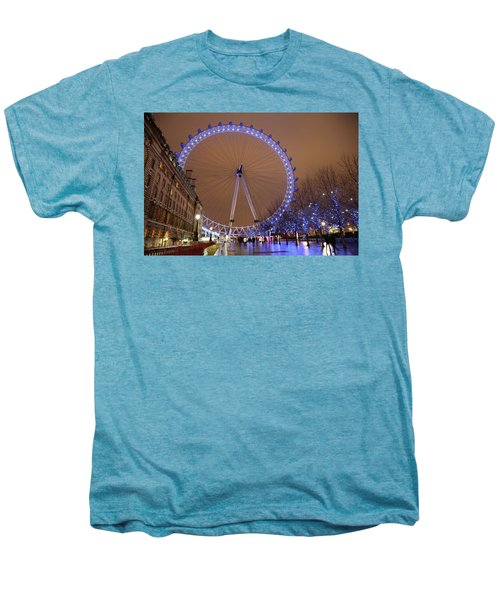 Men's Premium T-Shirt featuring the photograph Big Wheel by David Chandler