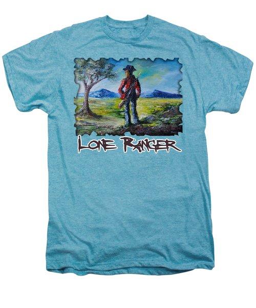Lone Ranger On Foot Men's Premium T-Shirt
