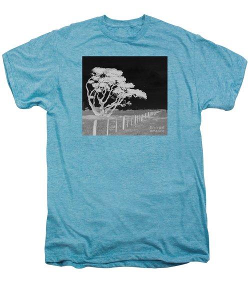 Lone Tree, West Coast Men's Premium T-Shirt by Nareeta Martin